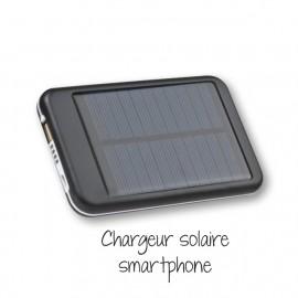 Cadeau : Chargeur solaire smartphone