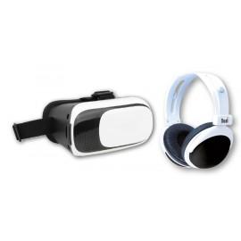 Cadeau : Masque de réalité virtuelle et Casque audio